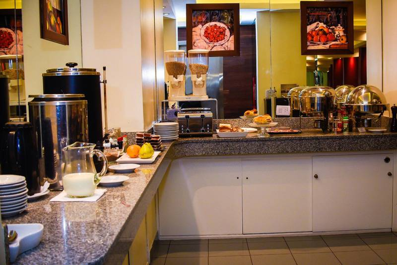 Breakfast  buffet park royal city buenos aires hotel