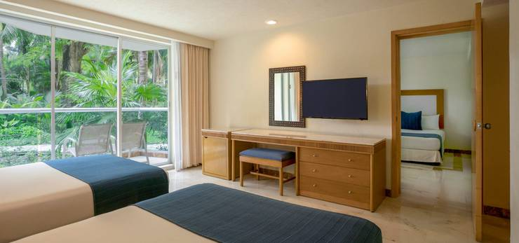 Family suite hotel grand park royal cozumel