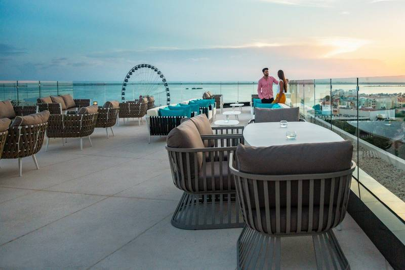 Plano all-inclusive hotel park royal beach cancun