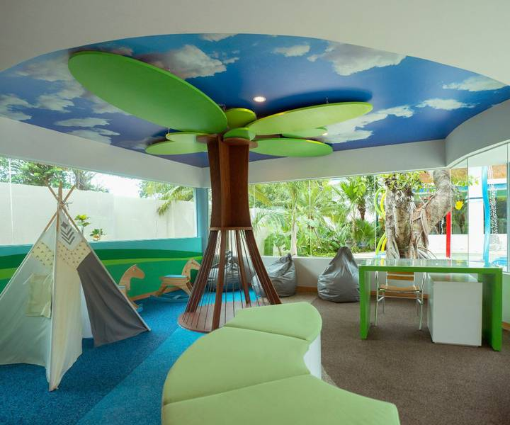 Kids' club grand park royal cozumel hotel