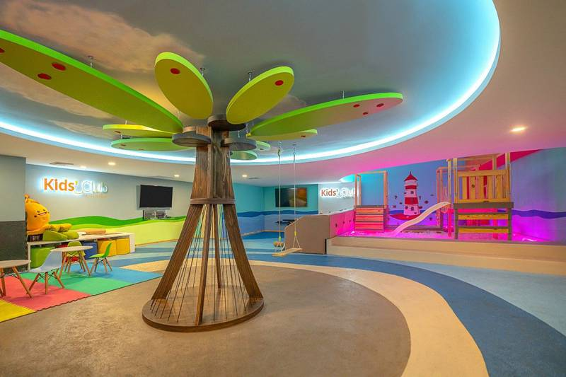 Kids' club hotel grand park royal cancun